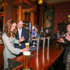 Kate Middleton Pulls Pint Empire Music Hall February 2019