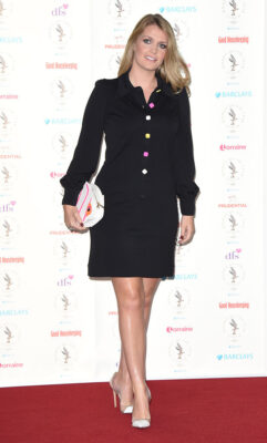 Lady Kitty Spencer Black Dress Women of the Year Awards and Lunch Intercontinental Park Lane Hotel 2015