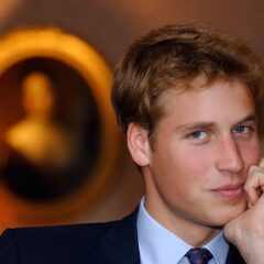 Prince William Blond Hair Smirk Holyrood House September 2001