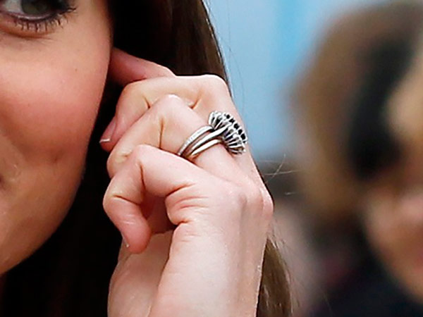 Kate Middleton Close Up Rings Portsmouth