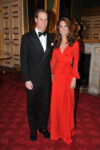 Kate Middleton Red Beulah London Gown 100 Women in Hedge Funds