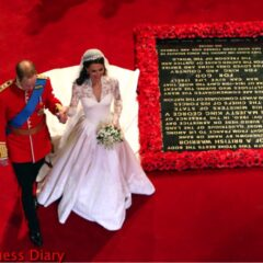 prince william kate middleton walk by tomb unknown soldier westminster abbey royal wedding