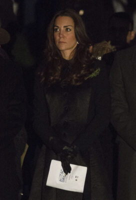 Kate Middleton Temperley London Coat ANZAC Dawn Service