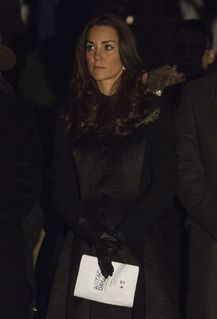 Kate Middleton Temperley London Coat ANZAC Dawn Service