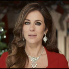 Elizabeth Hurley Jewelry Christmas Broadcast The Royals