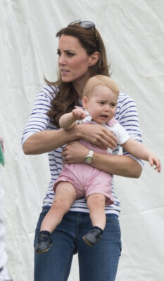 Prince George Squirms Cirencester Polo Club