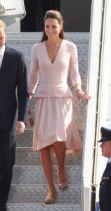 Kate Middleton Alexander McQueen Pink Dress Adelaide Australia