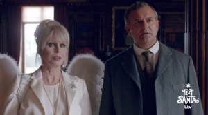 Joanna Lumley Angel Lord Grantham Downton Abbey ITV
