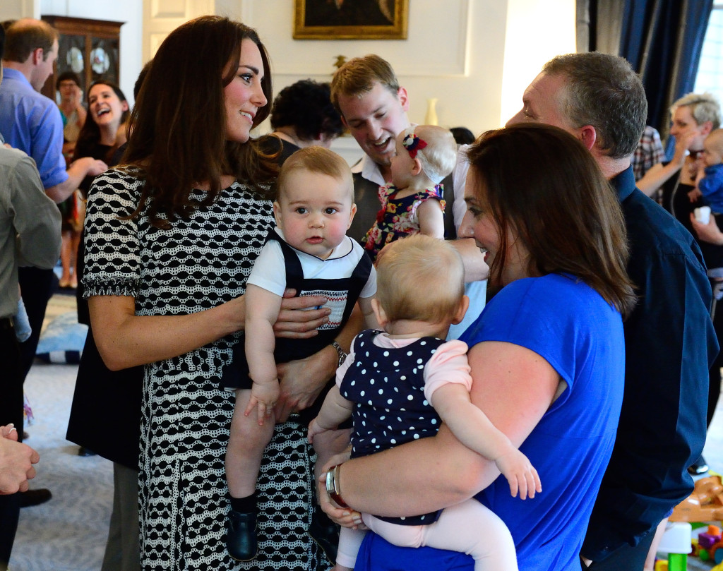 Prince George Kate Middleton Plunket Playdate New Zealand