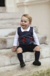 Prince George Cath Kidston Guards Sweater Vest Christmas Photo