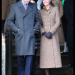 Prince William Kate Middleton Leave St. Mary Magdalene Church Sandringham