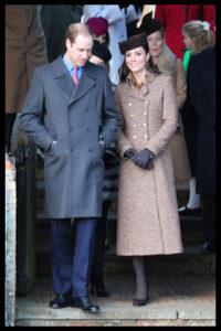 Prince William Kate Middleton Leave St. Mary Magdalene Church Sandringham