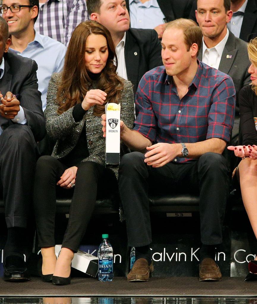 Kate Middleton Eats Popcorn Prince William