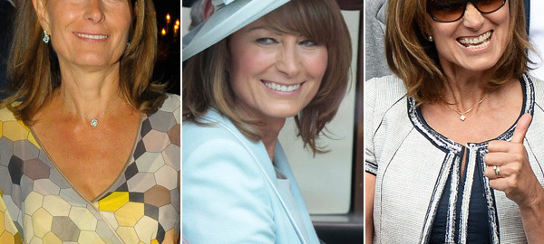 Various Photos Carole Middleton Smiling