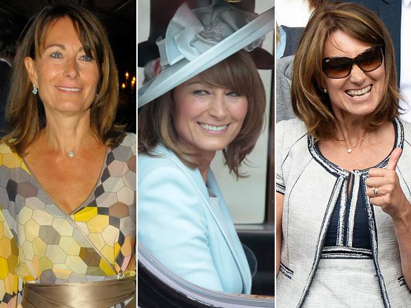 Various Photos Carole Middleton Smiling