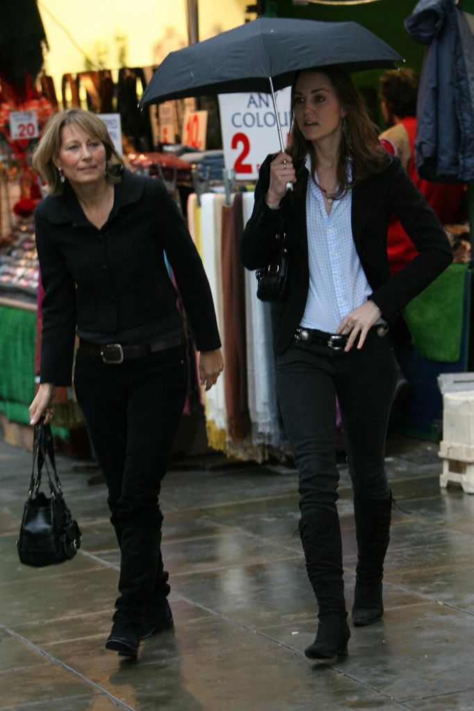 Kate Middleton Carole Middleton Shopping London