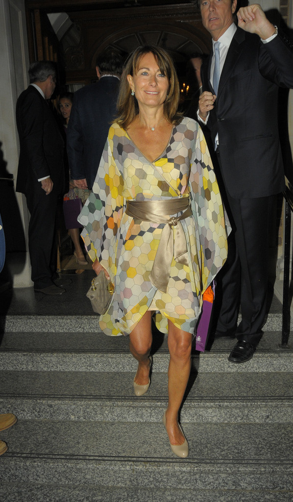 Carole Middleton Goring Hotel Beach Party