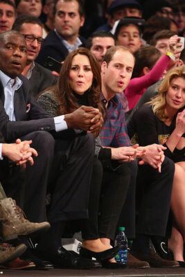 Cleveland Kate Middleton and Prince William: Cavaliers vs Brooklyn Nets