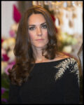 Kate Middleton New Zealand Silver Fern Jenny Packham Dress State Reception New Zealand