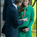Kate Middleton Green Coat Hamilton Airport