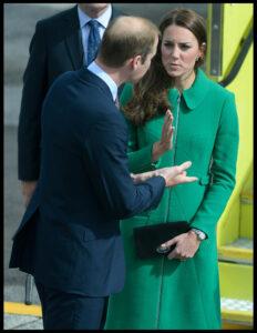 Kate Middleton Green Coat Hamilton Airport