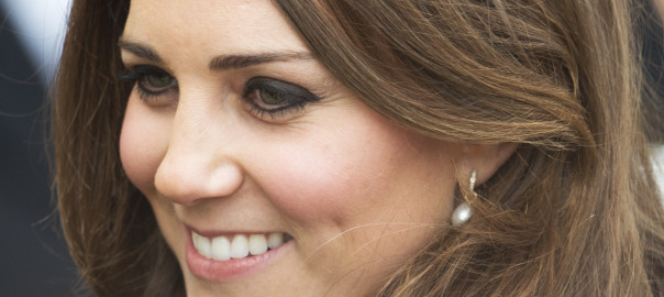 Kate Middleton Hair Close-Up Warner Bros.