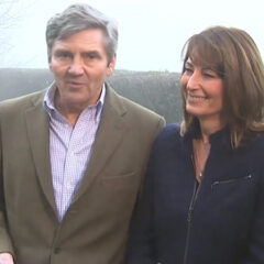 Michael Middleton Statement Royal Engagement Carole Middleton Smiles Bucklebury