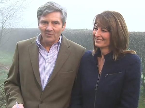Michael Middleton Statement Royal Engagement Carole Middleton Smiles Bucklebury