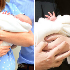Prince George Newborn Waves Lindo Wing Prince Jacques Monaco Wave