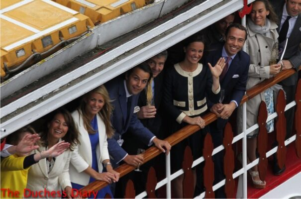 carole michael james pippa middleton spirit of chartwell diamond jubilee