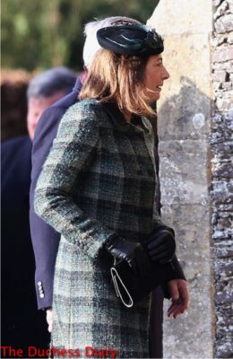 carole middleton st. mary magdalene christmas church service 2014