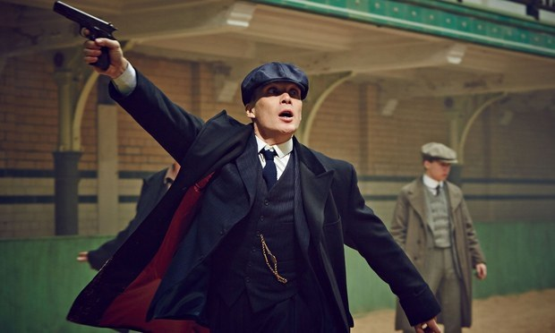Tom shelby peaky blinders gun
