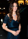 Kate Middleton Jenny Packham Silk Gown Queen Elizabeth Necklace