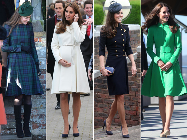 Best Coats Worn by Kate Middleton