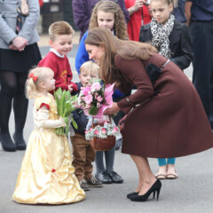 Kate Middleton Meets Royal Fan Dressed In Costume Grimsby