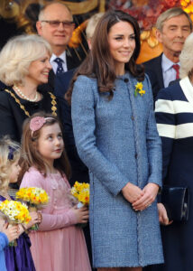 Kate Middleton M Missoni Coat Little Girl Looks UP