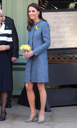 Kate Middleton M Missoni Coat Fortnum & Mason