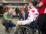 Prince Harry Green Jacket RFU Injured Players Foundation