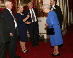Dame Helen Mirren Queen Elizabeth Reception For The Dramatic Arts
