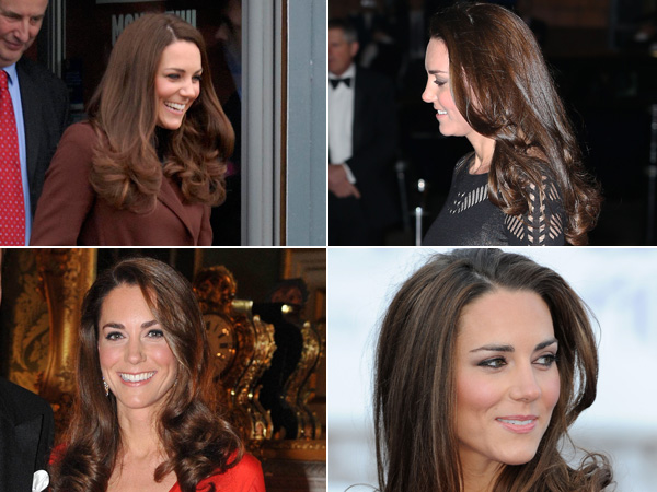 Best Bouncy Hair Photos Kate Middleton