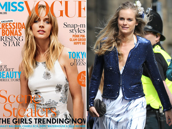 Cressida Bonas Miss Vogue Cover Split Percy Wedding