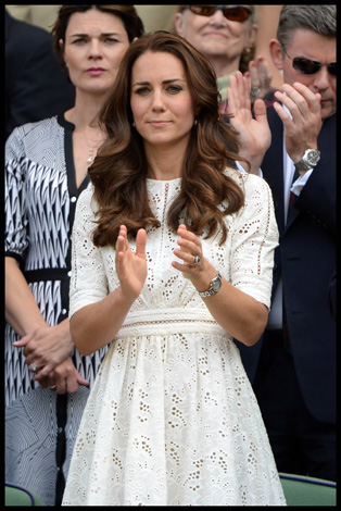 Kate Middleton Zimmerman Dress Wimbledon