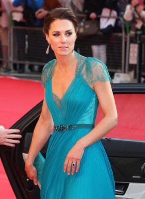 Kate Middleton Jenny Packham Gown Team GB Gala 2012