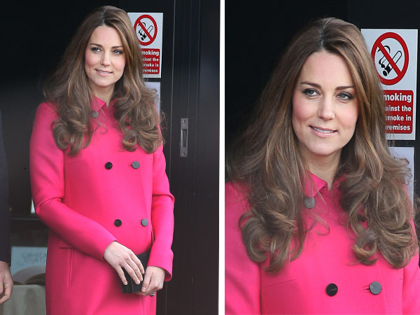 Kate Middleton Split Lead Image Curly Hair Stephen Lock Center