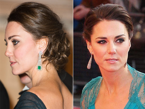 Split Kate Middleton up Dos