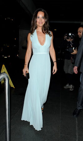 Pippa Middleton Hugo Boss Dress ParaSnowBall 2015