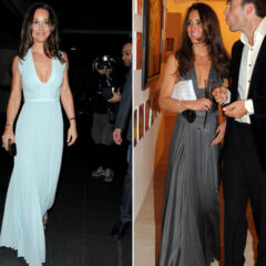 Pippa Middleton Hugo Boss Dress Snowball 2015 Kate Middleton Starlight Children's Foundation Dinner 2009