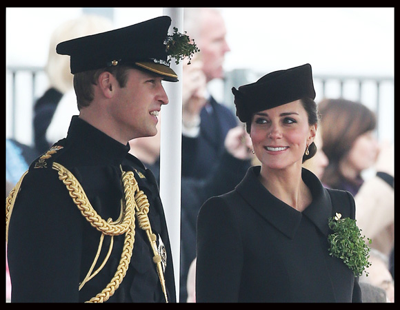 Prince William Speaks Kate Middleton St. Patricks' Day 2015