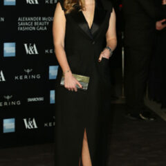 Princess Beatrice Black Dress Alexander McQueen Savage Beauty