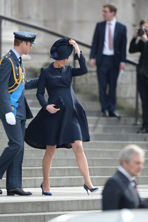 Kate Middleton Hat Beulah London Coat St Paul's Cathedral